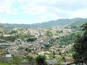 Vista Cidade de Ouro Preto MG [IPHAN]