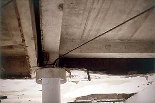 Estrutura do trecho ampliado justaposta à estrutura original