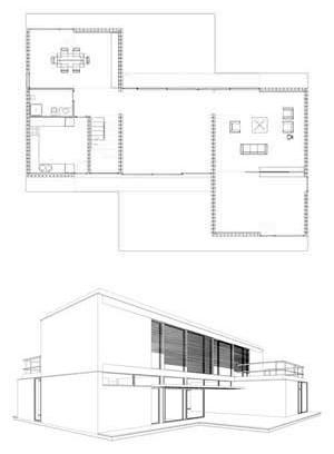 Casa pl 1, Calicanto, Espanha, 2002