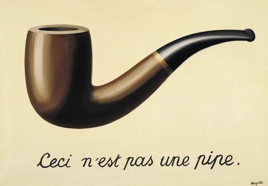 """René Magritte, """"A traição das imagens"""" (""""La trahison des images""""), 1929<br />Foto divulgação  [Los Angeles County Museum of Art]"""