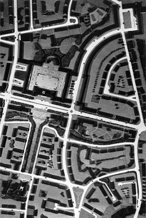 Detalhe da Cidade Jardim de Lechworth, Inglaterra
