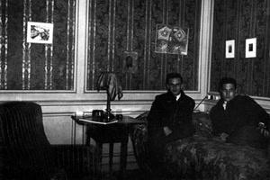 Ernesto Estrada em Paris, 1935
