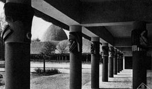 Exposição Colonial Internacional, Paris, 1931. Pavilhão do Congo Belga