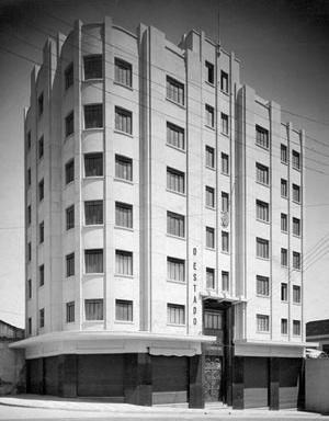 Figura 10 - Foto do edifício A.C.I.C. – Campinas – 1940 [Arquivo Pessoal da H. N. Segurado]