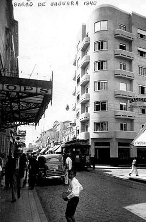 Figura 16 - Edifício Sant'Anna em 1940 [Arquivo MIS – Campinas]