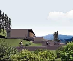 nstituto de Ensino em Morella, Castellon, 2001. Helio Pinon, Laboratorio de Arquitectura, ETSB UPC