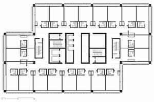 Torre Barcelona, planta de hotel, 2001. Helio Pinon, Laboratorio de Arquitectura, ETSB UPC