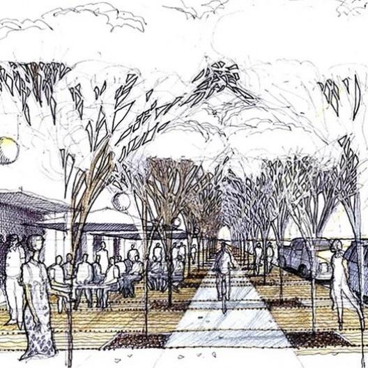 Plano de estruturação urbana Sorriso 2020, Sorriso MT, 2005. Escritório Jaime Lerner Arquitetos Associados<br />Imagem divulgação  [website oficial do arquiteto]