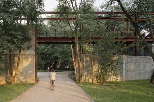 Parque da Juventude, São Paulo, paisagismo arquiteta Rosa Kliass<br />Foto Nelson Kon