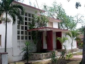 Casa construída para a família Ibarra, projetada pelo próprio arquiteto Rodolfo Ibarra