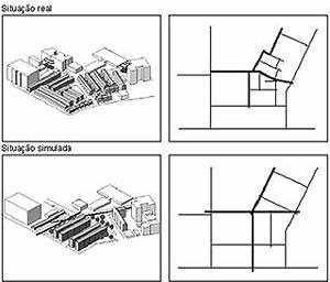 Figura 12. Situação real e simulada