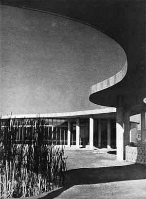 Casa do Baile, Pampulha, 1942, Oscar Niemeyer
