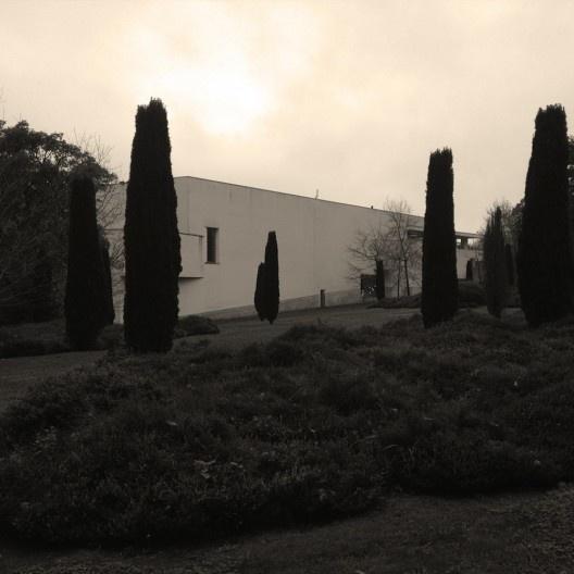 Jardins do Museu de Serralves, Porto<br />Foto Ney Zillmer Neto