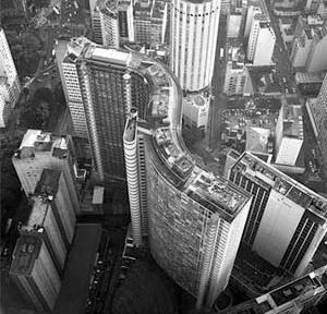 Centro de São Paulo<br />Foto Nelson Kon