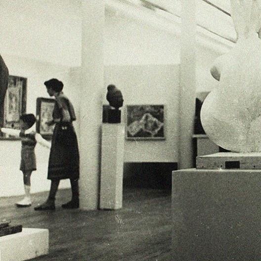 Pavilhão da 1ª Bienal<br />Foto divulgação  [Arquivo Histórico Wanda Svevo – Fundação Bienal de São Paulo]