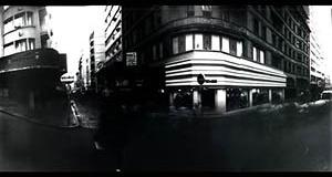 """Sem título, 1999. Foto de Juliana Angeli, Câmara escura, tempo de exposição 4' 20"""""""