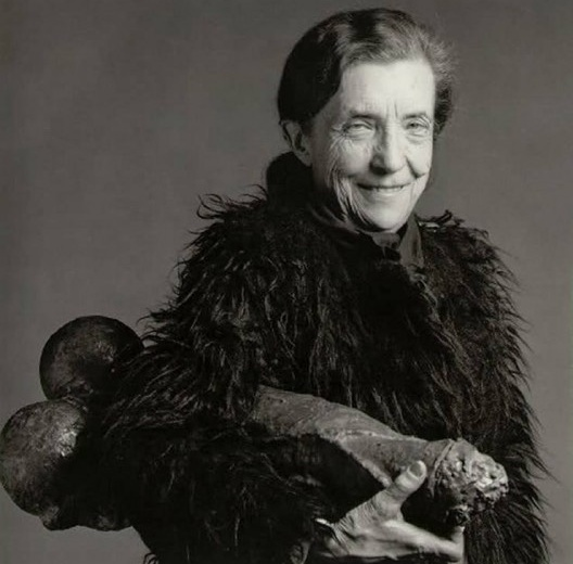 Louise Bourgeois<br />Foto Robert Mapplethorpe