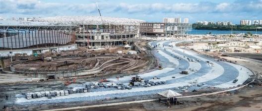 Construção do Parque Olímpico do Rio de Janeiro, anos 2010<br />Foto Verena Glass  [EBC – Empresa Brasil de Comunicação]