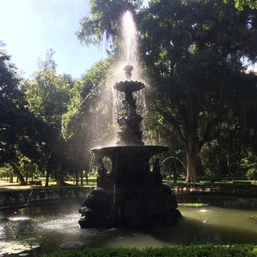 Jardim Botânico, reminiscência dos espaços públicos construídos pelo Império<br />Foto Abilio Guerra