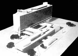 Sede da Prefeitura do Distrito Federal, RJ, 1938 [BONDUKI, Nabil. Affonso Eduardo Reidy. Editorial Blau / Instituto Bardi, Porto / São Paulo]