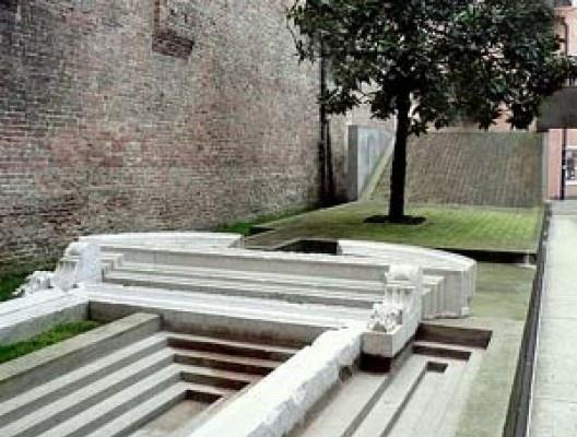 stituto Universitario di Architettura di Venezia, entrada. Arquiteto Carlo Scarpa<br />Foto Abilio Guerra
