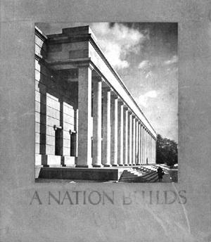 Livro sobre a arquitetura oficial alemã. Berlim, 1940 [Colección CEDODAL]