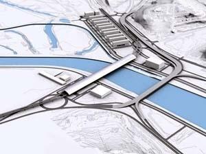 Filiação 9 – Estação Coimbra, MMBB Arquitetos. Maquete eletrônica