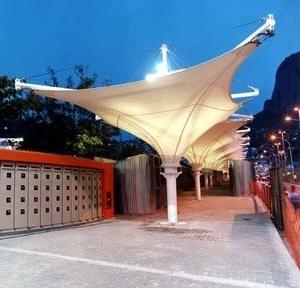 Filiação 10 – Mercado Popular da Rocinha, AAA Azevedo Arquitetos Associados. <br />Foto Celso Brando