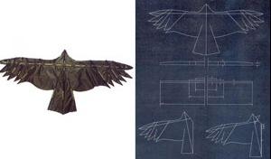 Aves-pipas, protótipo pássaro