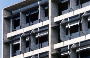 Edifício da CELPE, detalhe brise [Foto Aurelina Moura]