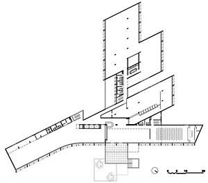 Edifício da CELPE, planta  1º pavimento [Foto Aurelina Moura]