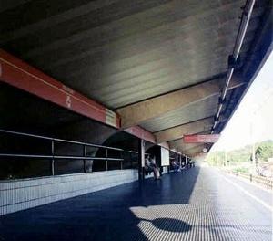Estaçao Coqueiral do metrô (1988), Recife [Foto Aurelina Mour]