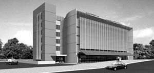 Edifício patrimonial do CONFEA, Brasília. 3º lugar no concurso nacional [Vidgo Serviços de Informática]