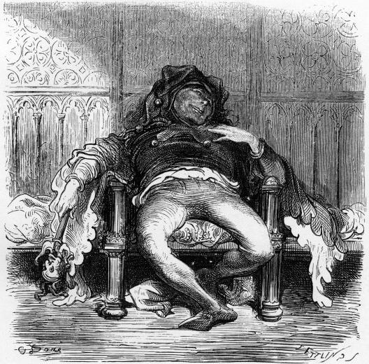 Ilustração de Gustave Doré para <i>Gargantua e Pantagruel</i>, de François Rabelais<br />Imagem divulgação