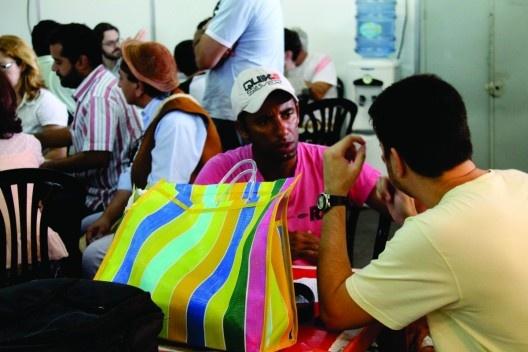Participação dos feirantes<br />Foto Pedro Carvalho