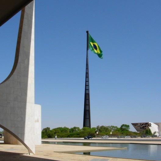 Monumento Pavilhão Nacional, Brasília, 1972. Arquiteto Sergio Bernardes<br />Foto Ivano Gutz  [Wikimedia Commons]