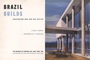 Folha de rosto de Brasil Builds, de Philip Goodwin, 1943