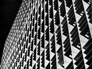 Brise-soleil do Ministério da Educação e Saúde, Lúcio Costa e equipe, 1936-42 [Brasil Builds, de Philip Goodwin, 1943]