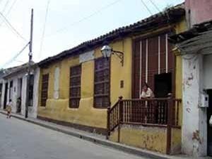 Foto 1: Casa da etapa colonial com fachada simples