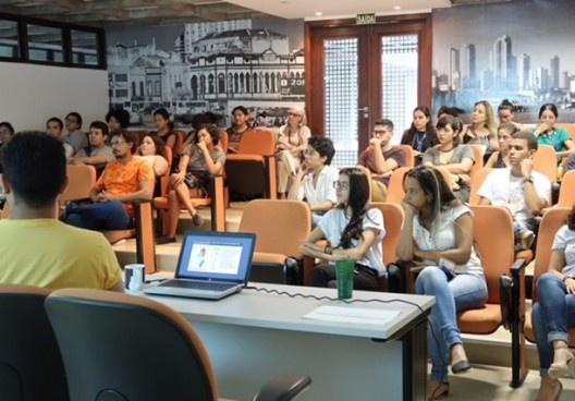 III SAMA, sessões de comunicação<br />Foto Rebeca Ferreira  [LAHCA-FAU/UFPA]