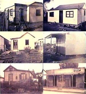 Imagen 5. Casillas típicas que conformaban el paisaje de la época [levantamento cadastral de 1939, Arquivo da Municipalidade de General Pueyrredon]