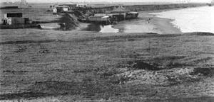 Imagen 9. Sector La Perla tomado desde el centro hacia el norte, cerca de 1894, donde puede apreciarse el comienzo desde el mar [Arquivo e Museu Histórico Municipal Roberto T. Barili]