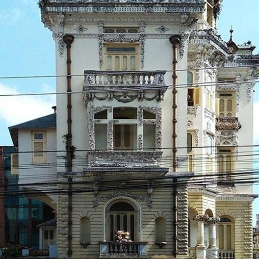Palacete Bolonha, Belém PA Brasil, 1908. Engenheiro Francisco Bolonha<br />Foto Cybelle Miranda, 2017