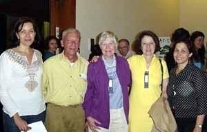 Palestrantes do Congresso: Silvana Rubino, Murilo Marx, Collins, Maria Stella Bresciani e Ivone Salgado<br />Foto Celina Fernandes Almeida Manso