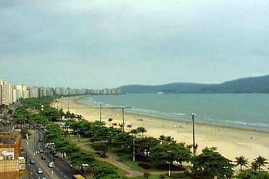 Vista atual da orla marítima a partir do terraço mirante do bloco A [Arquivo pessoal de Ériko de Oliveira]