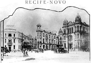 Figura 04 – Recife Novo, início do século 20 [Lubambo, 1991]