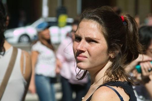 Laura Belik, estudante e estagiária do portal Vitruvius<br />Foto Silvana Romano