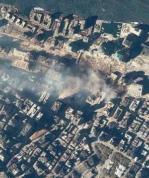 Atentado ao World Trade Center, Nova York, 11 de setembro de 2001