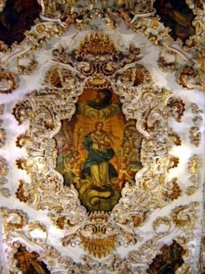 Forro da nave da igreja de Nossa Senhora da Conceição dos Militares, Recife, 1777<br />Foto do autor, 2004