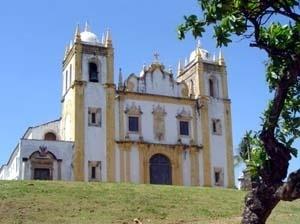 Frontispício da igreja de Nossa Senhora do Carmo, Olinda, 1720<br />Foto do autor, 2004